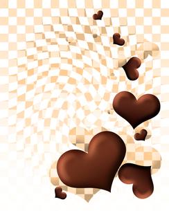 ハート型チョコレートの写真素材 [FYI00406960]