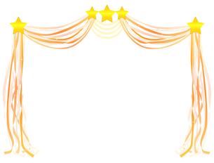 星とリボンの写真素材 [FYI00406967]
