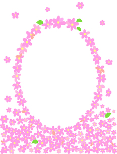 花のフレームの写真素材 [FYI00407011]