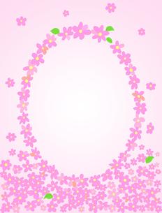 花のフレームの写真素材 [FYI00407015]