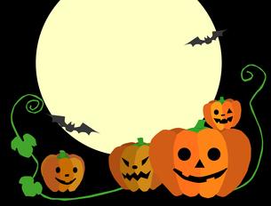 ハロウィンのかぼちゃの写真素材 [FYI00407026]