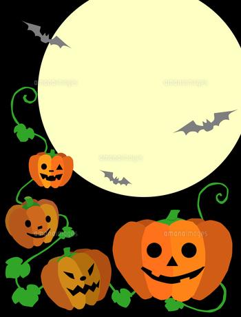 ハロウィンのかぼちゃの写真素材 [FYI00407040]
