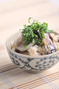秋刀魚ご飯の写真素材 [FYI00407138]
