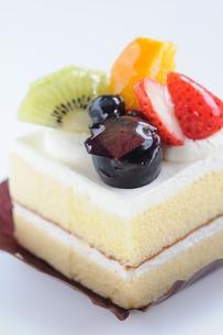 フルーツショートケーキの写真素材 [FYI00407139]