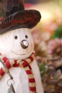 雪だるまのオブジェの写真素材 [FYI00407156]