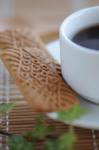 コーヒー&クッキーの写真素材 [FYI00407184]