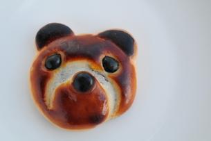 可愛いクマのお菓子の素材 [FYI00407185]