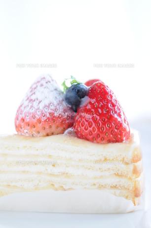 いちごショートケーキの写真素材 [FYI00407215]