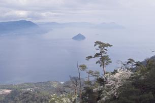 宮島からの海の写真素材 [FYI00407255]
