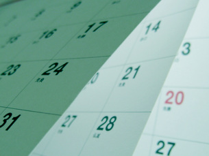 カレンダーの素材 [FYI00407378]