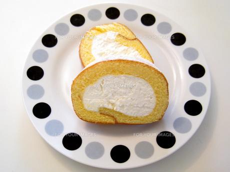 ロールケーキの写真素材 [FYI00407397]