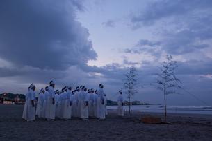 鎌倉 例祭の写真素材 [FYI00407407]