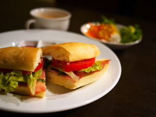 サンドイッチ1の写真素材 [FYI00407569]