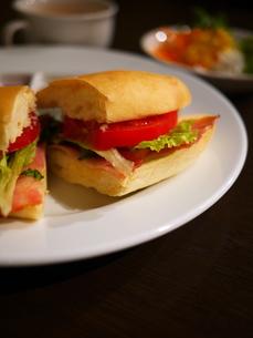 サンドイッチ2の写真素材 [FYI00407574]