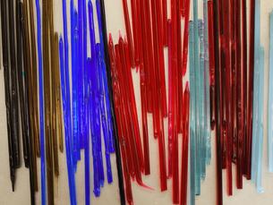 色ガラスの棒の写真素材 [FYI00407588]