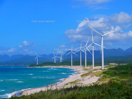 江津の風力発電2の素材 [FYI00407621]