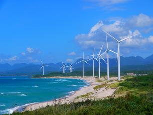 江津の風力発電2の写真素材 [FYI00407621]