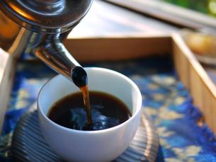 午後のコーヒーの写真素材 [FYI00407626]