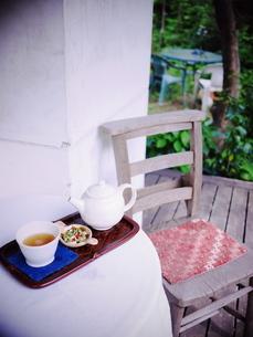 お茶の時間の写真素材 [FYI00407627]