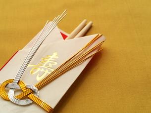 祝い箸の写真素材 [FYI00407886]
