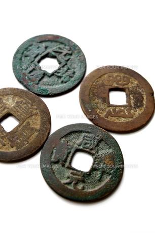 古銭の写真素材 [FYI00407965]