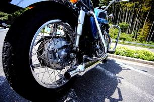 オートバイの写真素材 [FYI00407968]