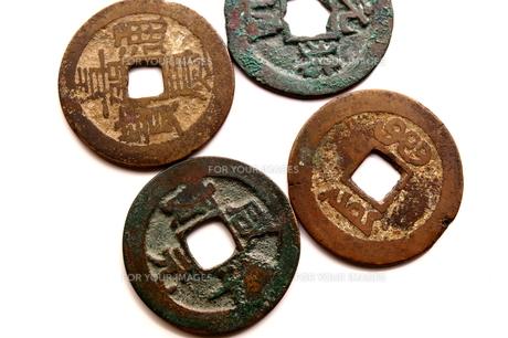 古銭の素材 [FYI00407976]