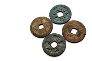 古銭の素材 [FYI00407988]