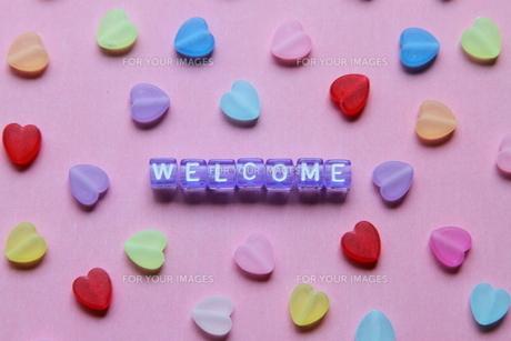 welcome ④の写真素材 [FYI00408093]