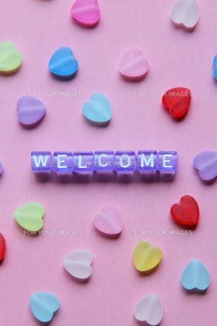 welcome ③の写真素材 [FYI00408097]