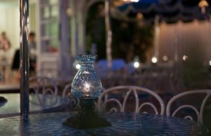 ランプの夜の写真素材 [FYI00408186]
