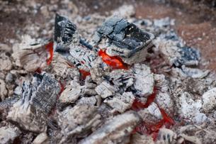 炭火の写真素材 [FYI00408204]