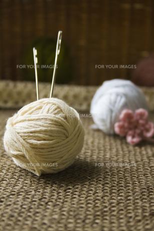 毛糸の玉の写真素材 [FYI00410811]