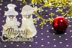クリスマスの飾りの写真素材 [FYI00410837]