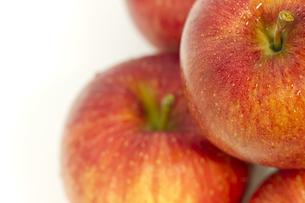 リンゴのアップの写真素材 [FYI00410847]