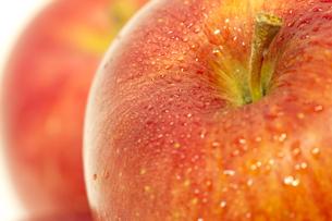 リンゴのアップの写真素材 [FYI00410861]