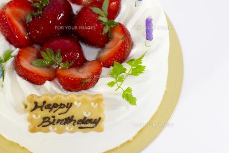 バースデーケーキの写真素材 [FYI00410892]