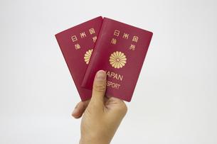 パスポートの写真素材 [FYI00410898]