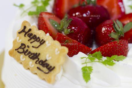 バースデーケーキの写真素材 [FYI00410899]