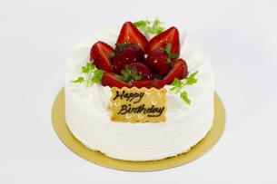 バースデーケーキの写真素材 [FYI00410900]
