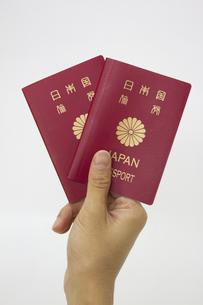 パスポートの写真素材 [FYI00410918]