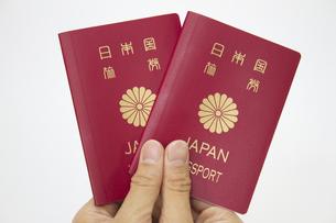 パスポートの写真素材 [FYI00410924]