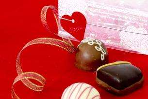 バレンタインチョコレートの素材 [FYI00410968]