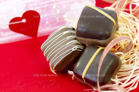 バレンタインチョコレートの素材 [FYI00410970]