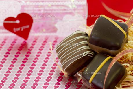 バレンタインチョコレートの素材 [FYI00410981]