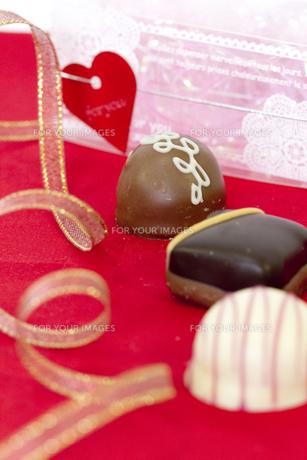バレンタインチョコレートの素材 [FYI00410983]