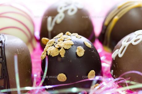 バレンタインチョコレートの素材 [FYI00410984]