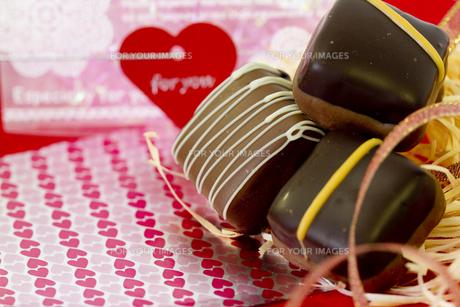 バレンタインチョコレートの素材 [FYI00410988]