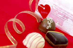 バレンタインチョコレートの写真素材 [FYI00410989]