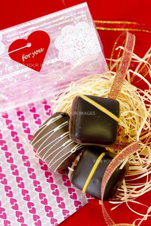 バレンタインチョコレートの素材 [FYI00410992]